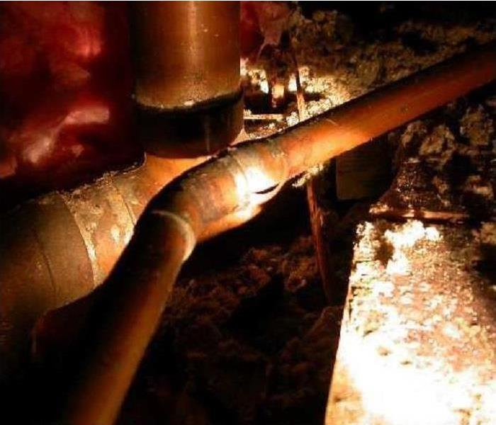 Water Damage Preventing Frozen Pipes